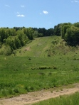 Ski Slope Hill- Muddier than it looks!